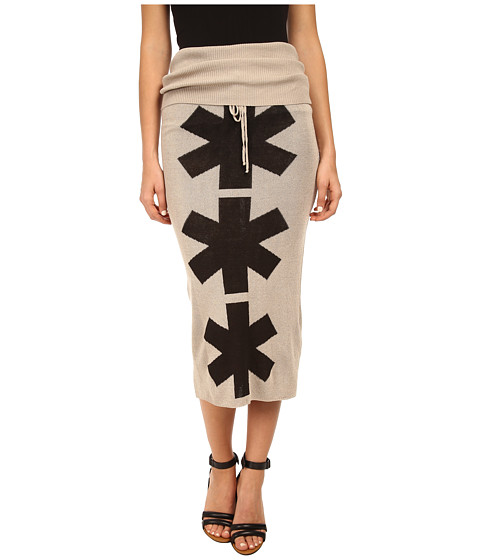 Vivienne Westwood Anglomania - Pipe Skirt (Natural) Women's Skirt
