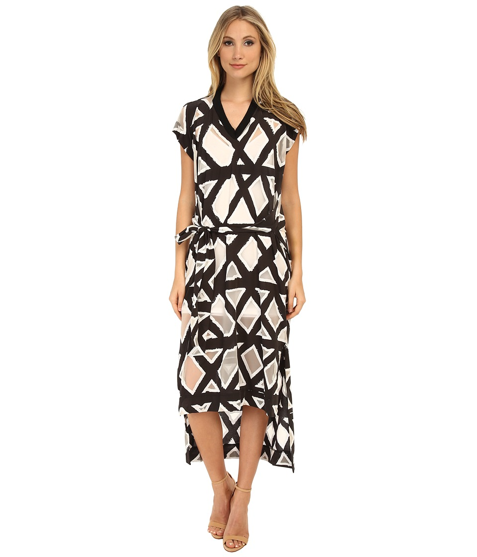 Vivienne Westwood - Hope Maxi Dress (Black/White) Women's Dress