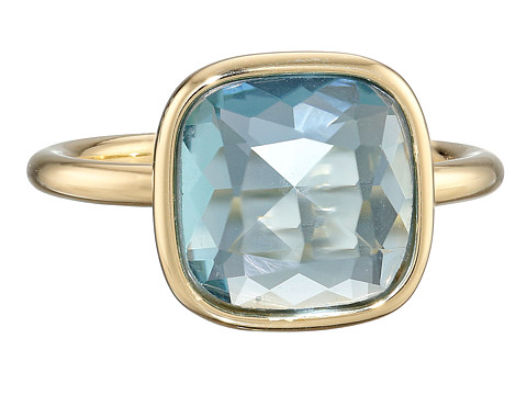 Michael Kors - Botanicals Stone Ring (Gold/Blue) Ring
