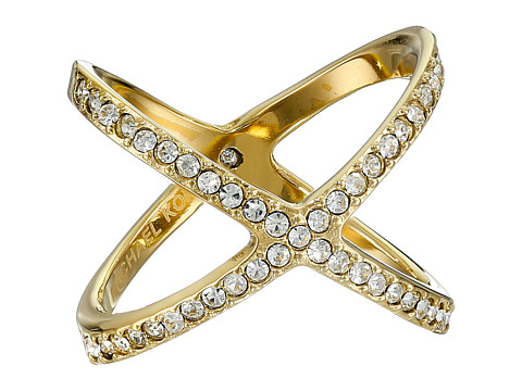 Michael Kors - Brilliance X Midi Ring (Gold) Ring