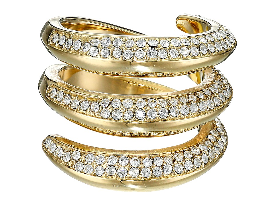 Michael Kors - Fashion Tribal Pave Ring (Gold) Ring