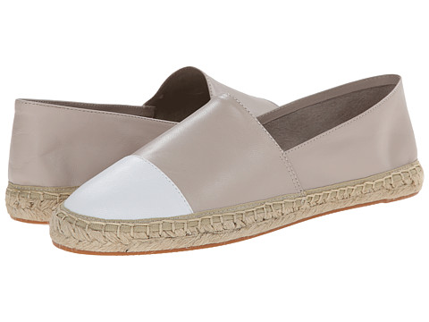 Rebecca Minkoff - Gavin (Elephant/White) Women's Slip on Shoes