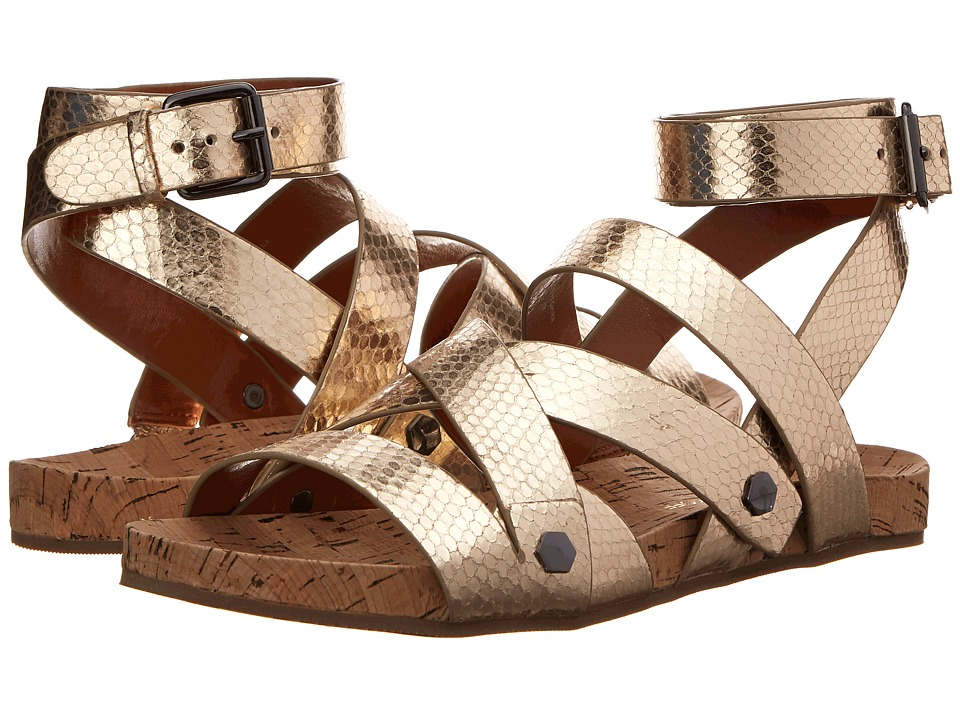 Rebecca Minkoff - Tristen (Gold) Women's Sandals