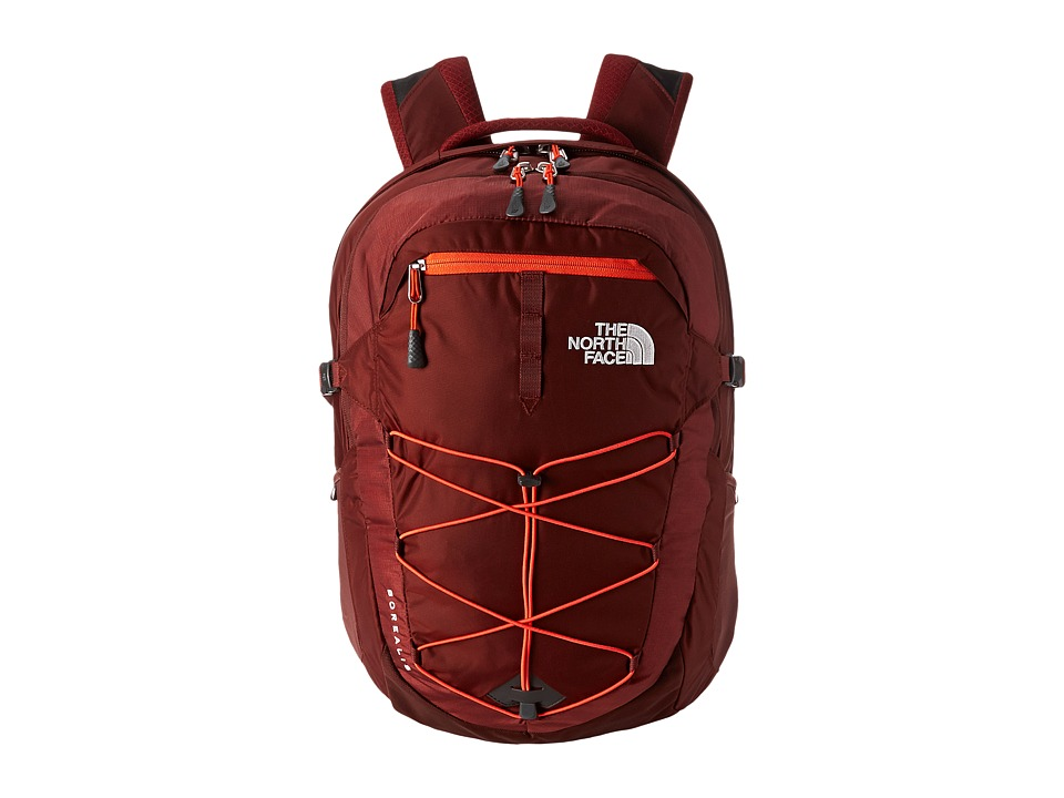 The North Face - Men's Borealis (Brick House Red/Acrylic Orange) Backpack Bags