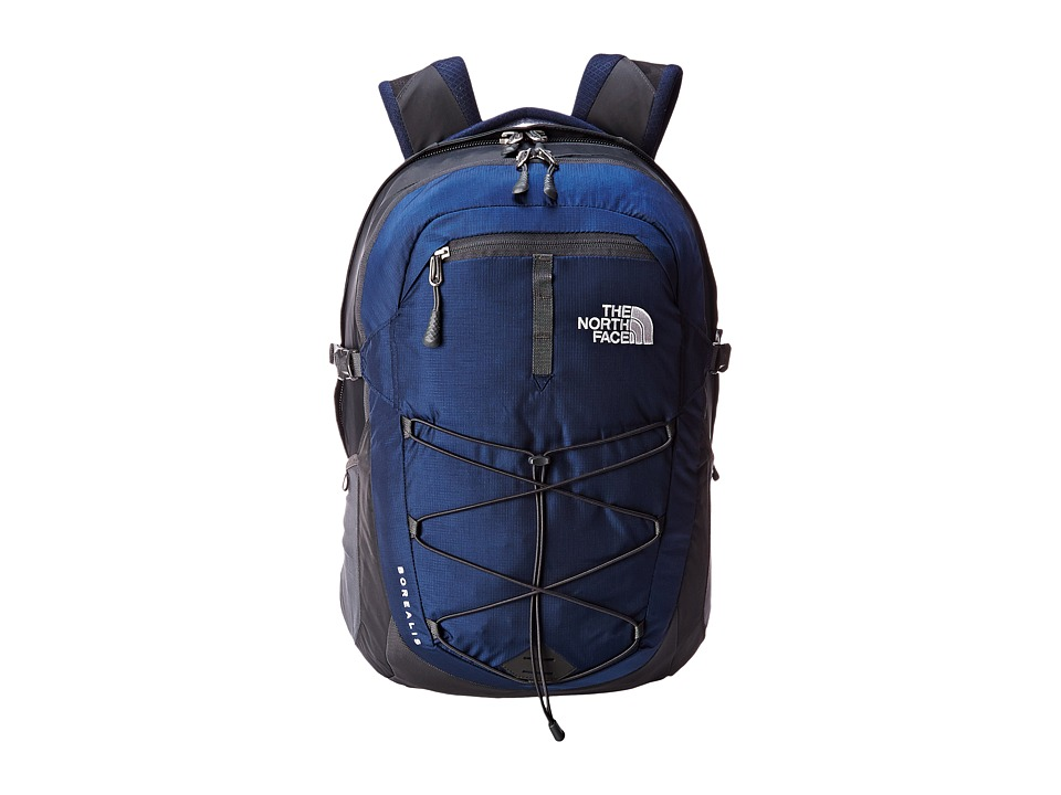 The North Face - Men's Borealis (Cosmic Blue/Asphalt Grey) Backpack Bags