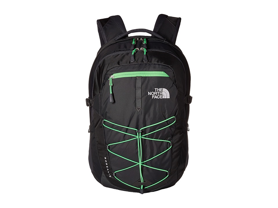 The North Face - Borealis (Alphalt Grey/Krypton Green) Backpack Bags