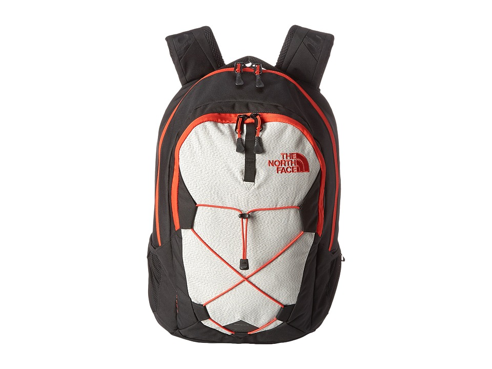 The North Face - Jester (TNF Black/Fiery Red) Backpack Bags