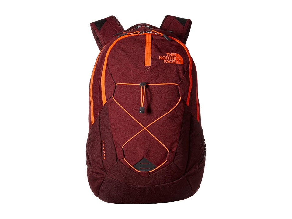 The North Face - Jester (Brick House Red/Shocking Orange) Backpack Bags
