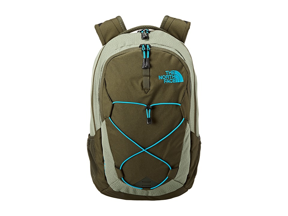 The North Face - Jester (Forest Night Green/Enamel Blue) Backpack Bags