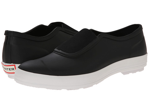 Hunter - Plimsole (Black) Men's Flat Shoes