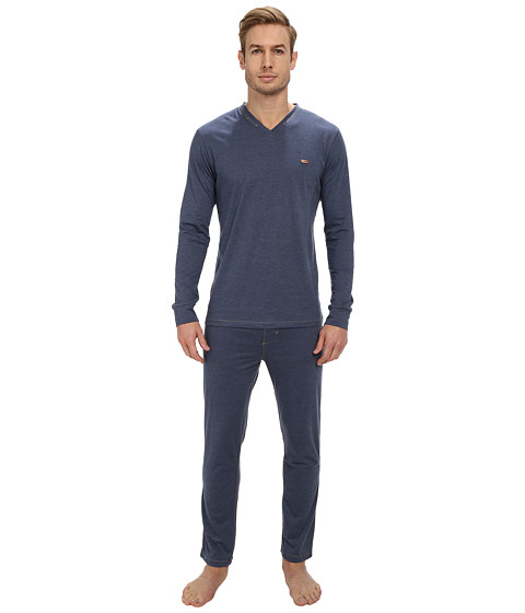 Diesel - Mario-V Pajama Set GACN (Dark Denim) Men