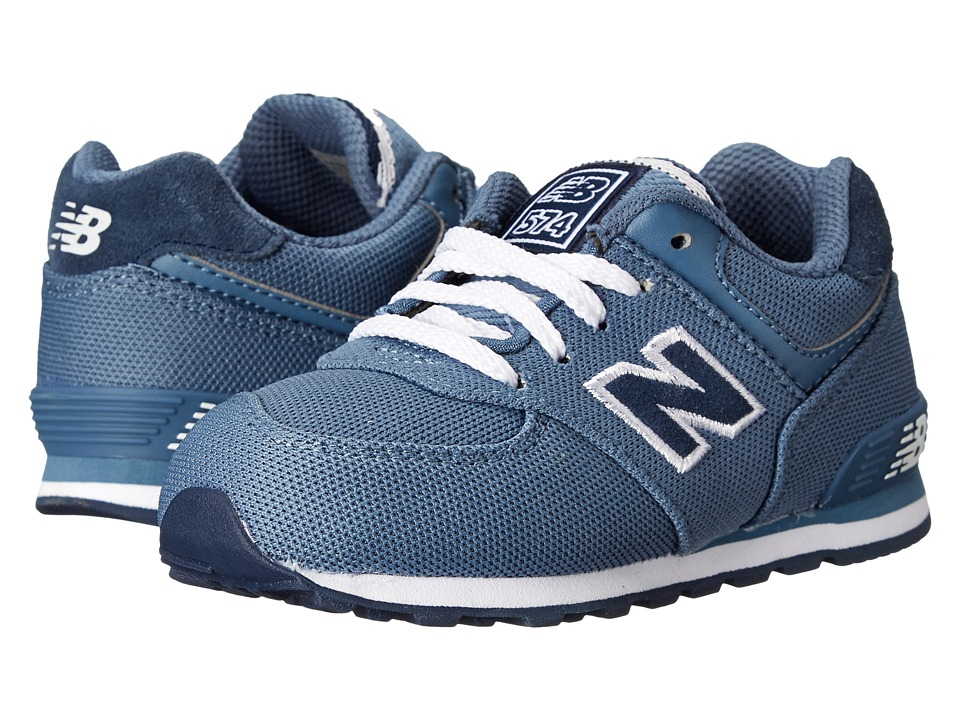 New Balance Kids - KL574 (Infant/Toddler) (Chambray 2) Kids Shoes