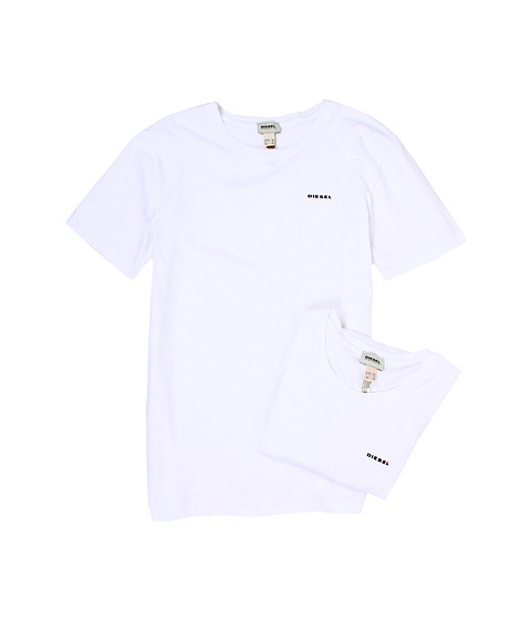 Diesel - Randal T-Shirt QAHE 2-Pack (White) Men