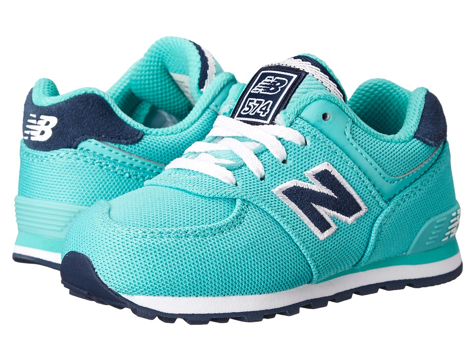 New Balance Kids - KL574 (Infant/Toddler) (Aquarius) Kids Shoes