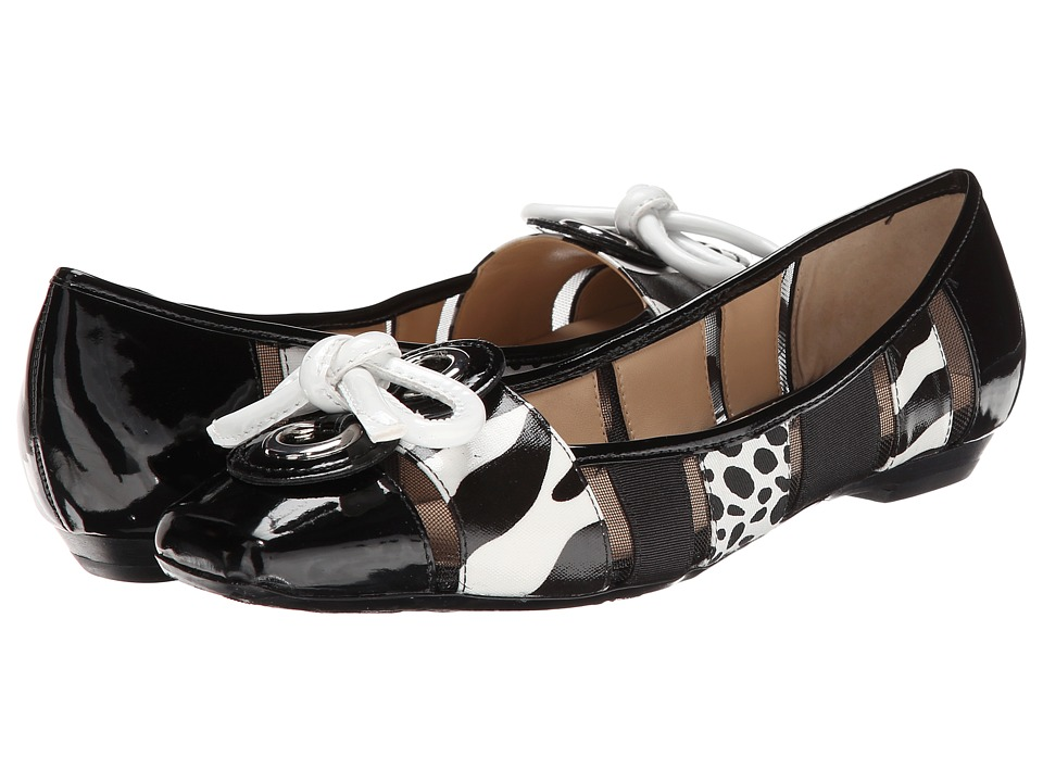 J. Renee Edie (Black/White Zebra) Women