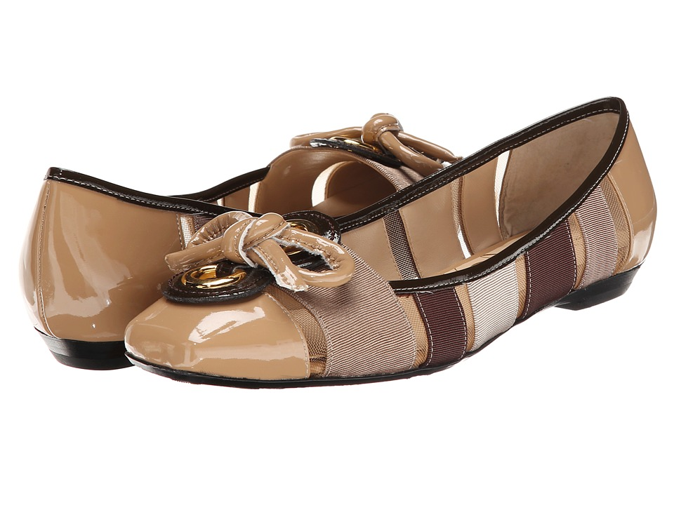 J. Renee - Edie (Brown Multi) Women's Dress Flat Shoes