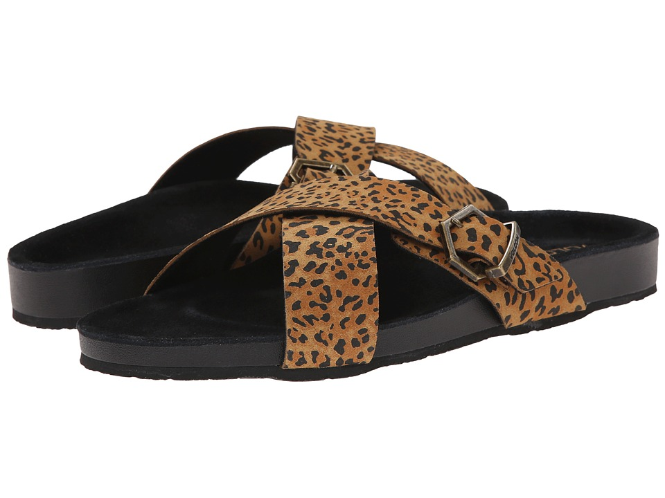 Volcom - Relax Sandal (Cheetah) Women's Sandals