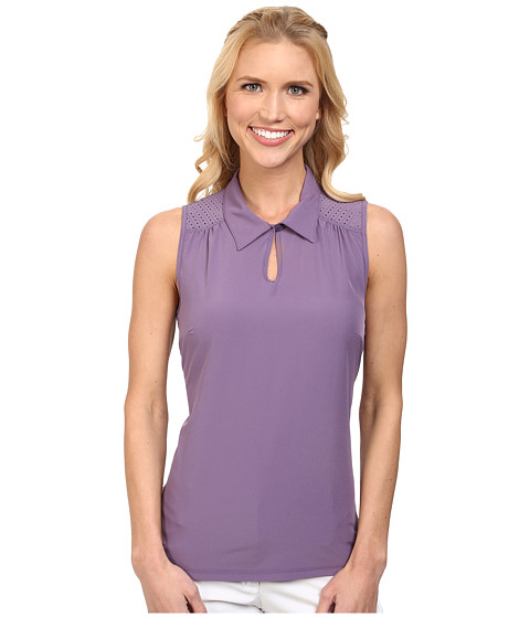 LIJA - Pursuit Birdie Sleeveless Polo (Plum) Women's Sleeveless