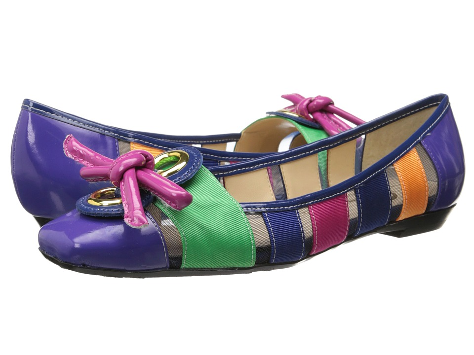 J. Renee - Edie (Bright Multi) Women's Dress Flat Shoes