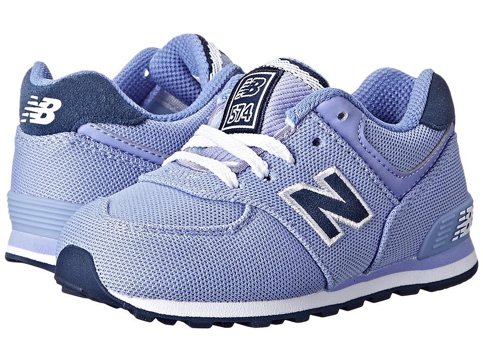 New Balance Kids - KL574 (Infant/Toddler) (Ice Violet) Girls Shoes
