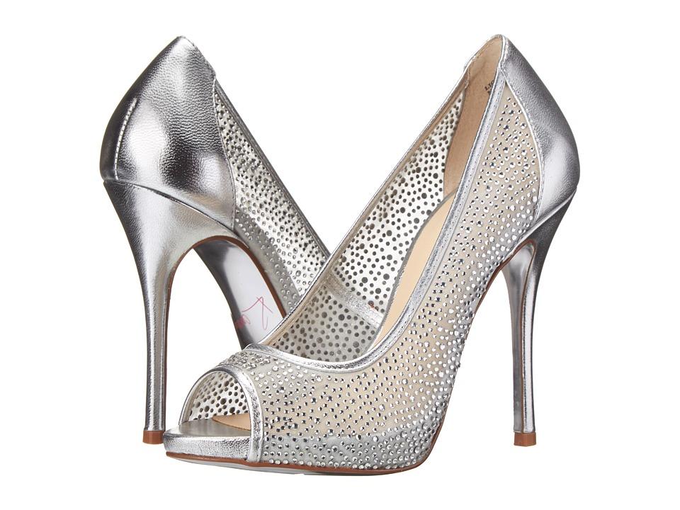 Kristin Cavallari - Light (Silver Metallic) High Heels