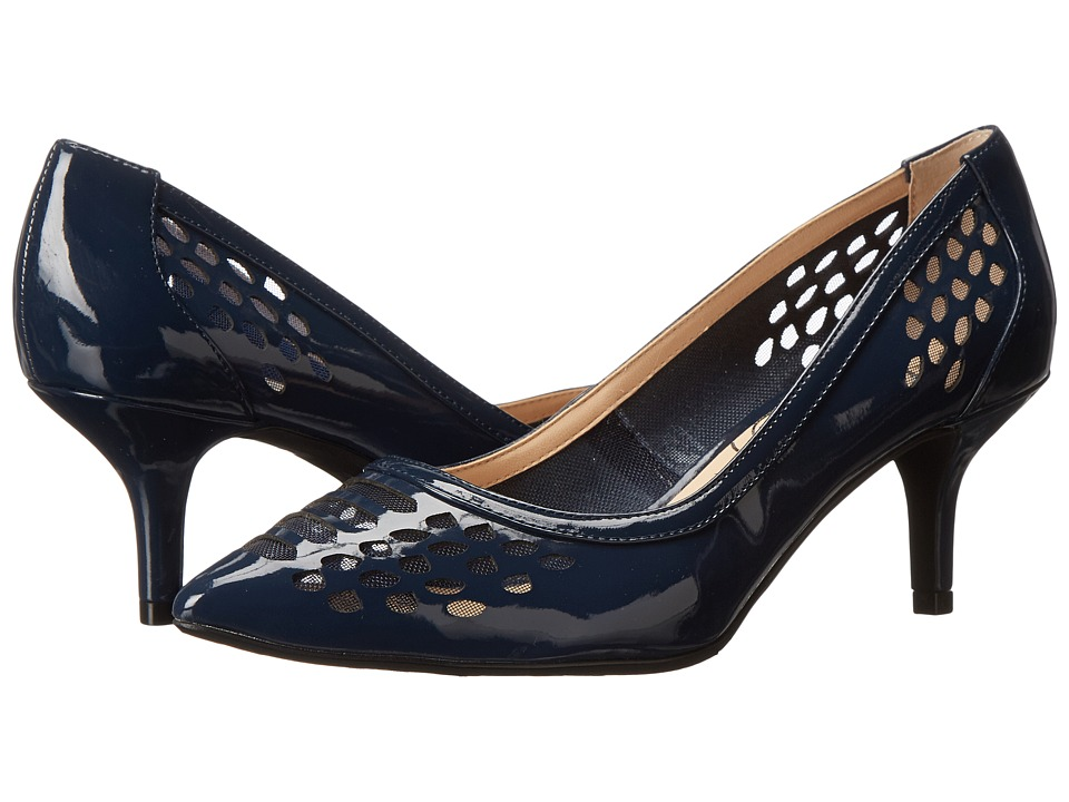 J. Renee - Halina (Navy) Women's 1-2 inch heel Shoes