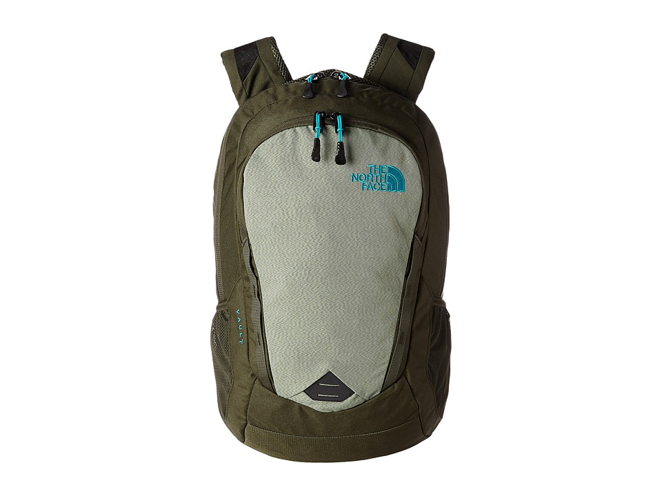 The North Face - Vault (Forest Night Green/Enamel Blue) Backpack Bags