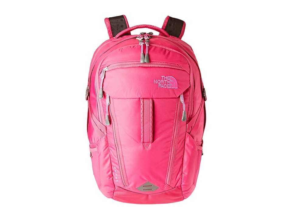 The North Face - Women's Surge (Dramatic Plum/Luminous Pink) Backpack Bags