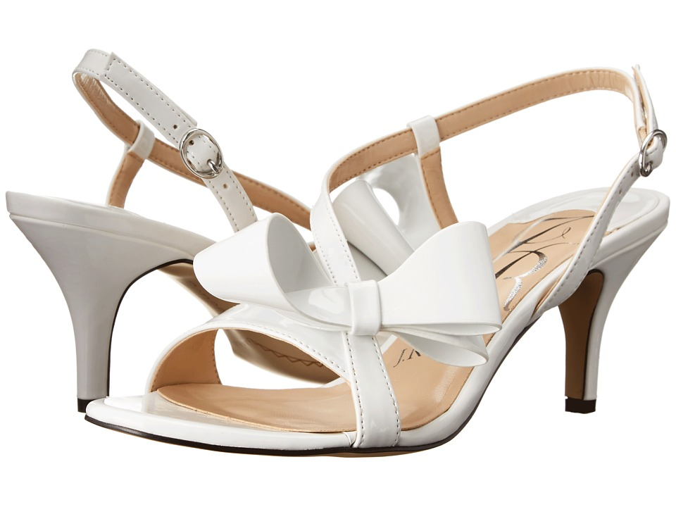 J. Renee Fedelia (White) High Heels