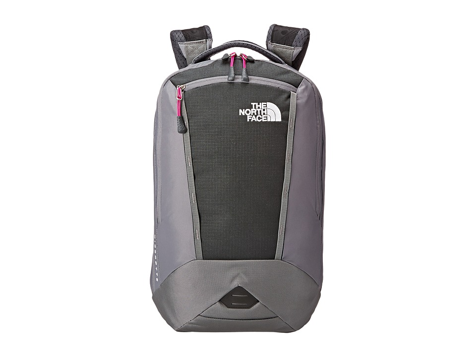 The North Face - Women's Microbyte (Asphalt Grey/Luminous Pink) Backpack Bags