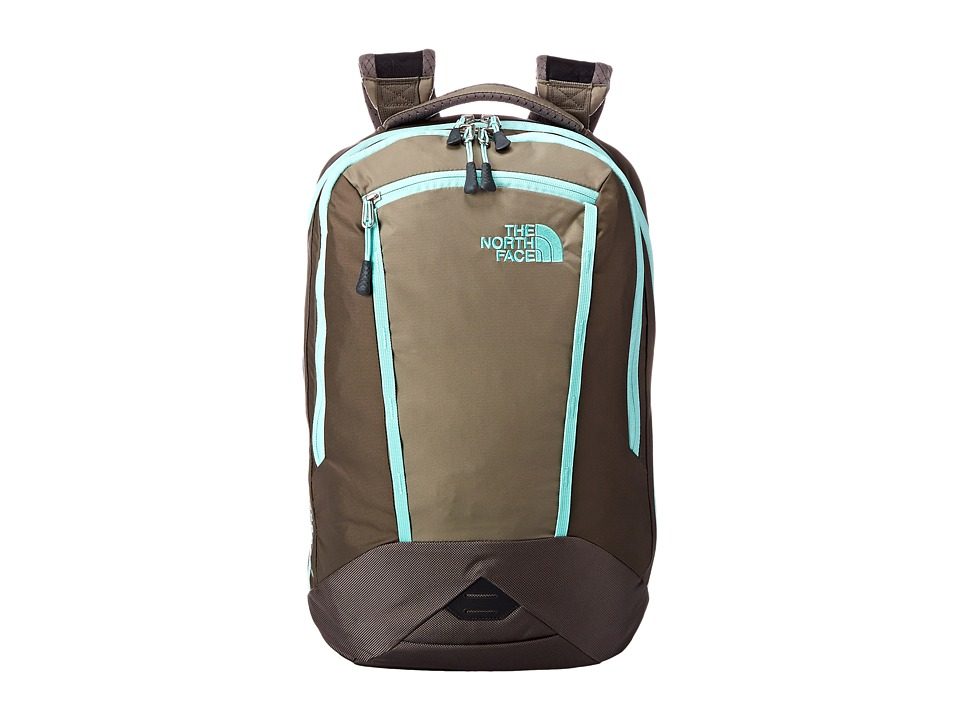 The North Face - Women's Microbyte (Brindle Brown/Surf Green) Backpack Bags