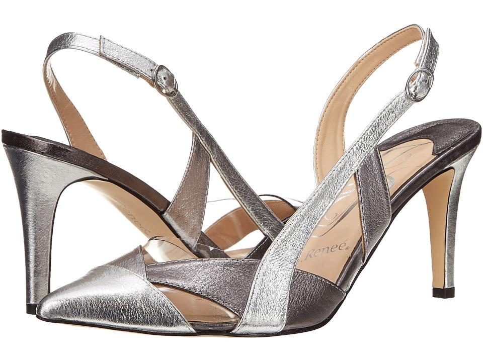 J. Renee - Pasco (Silver) High Heels