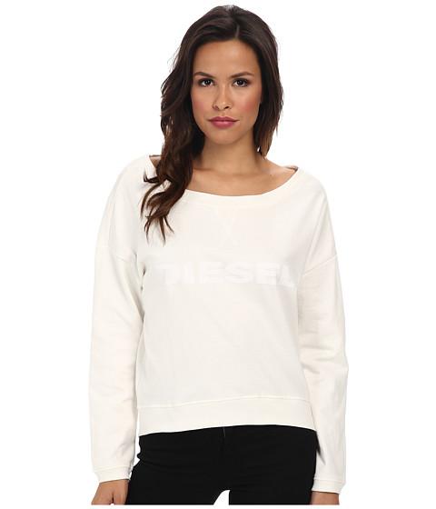 Diesel - Nemy Sweatshirt DAEY (White) Women's Sweatshirt
