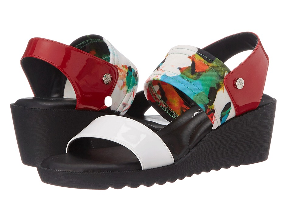 J. Renee Annora (Red Multi) High Heels