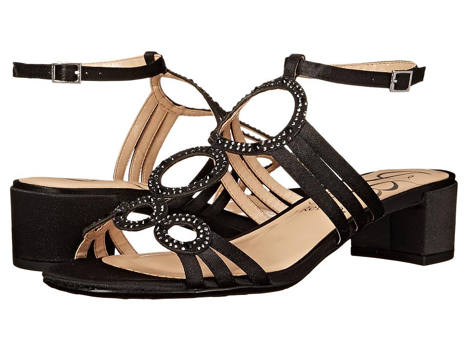 J. Renee Terri (Black Glimmer) High Heels