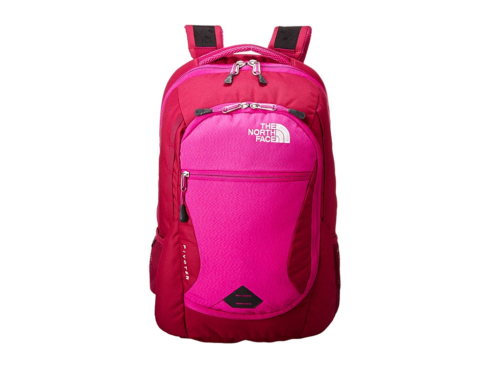 The North Face - Pivoter (Dramatic Plum/Luminous Pink) Backpack Bags