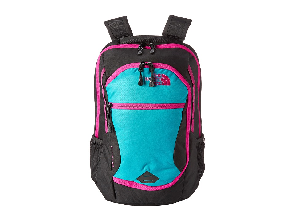 The North Face - Pivoter (Kokomo Green/TNF Black) Backpack Bags