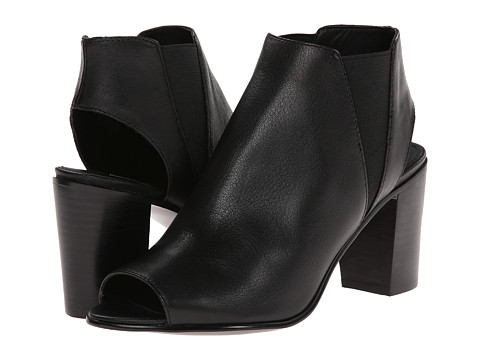 Steve Madden - Nobel (Black Leather) Women
