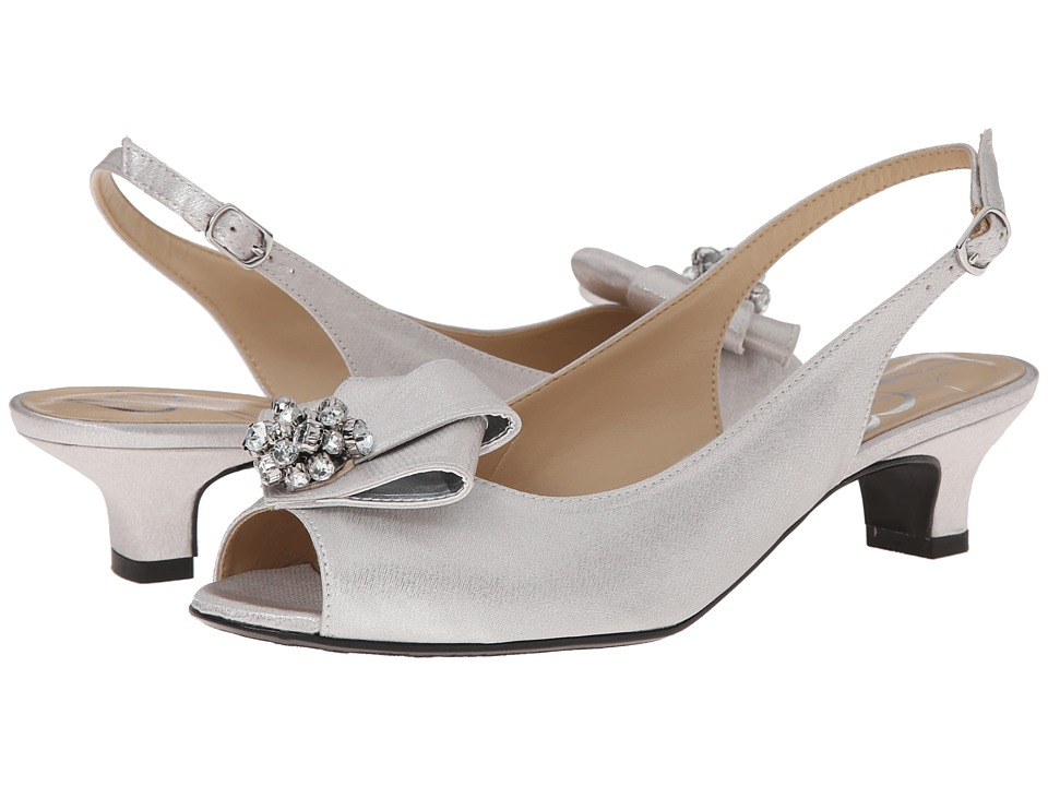 J. Renee - Jadan (Silver) Women's 1-2 inch heel Shoes