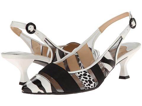 J. Renee - Gavrel (Black/White Zebra) High Heels