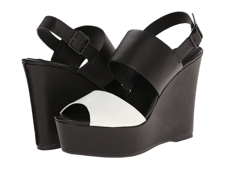 Steve Madden - Seemed (Black/White) Women