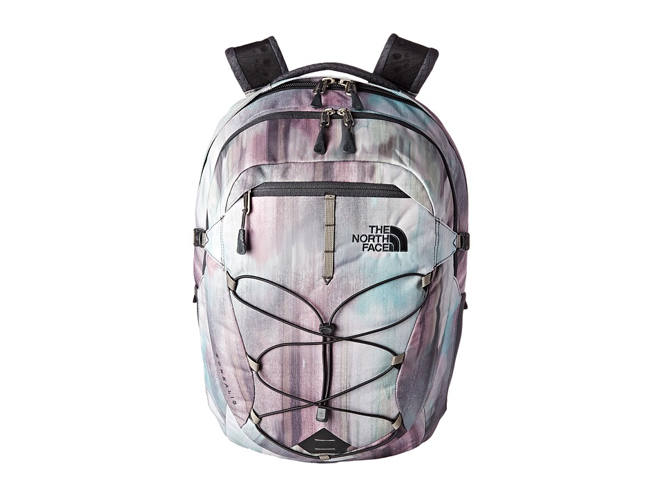 The North Face - Women's Borealis (Lagoon Iridescent Print/Asphalt Grey) Backpack Bags