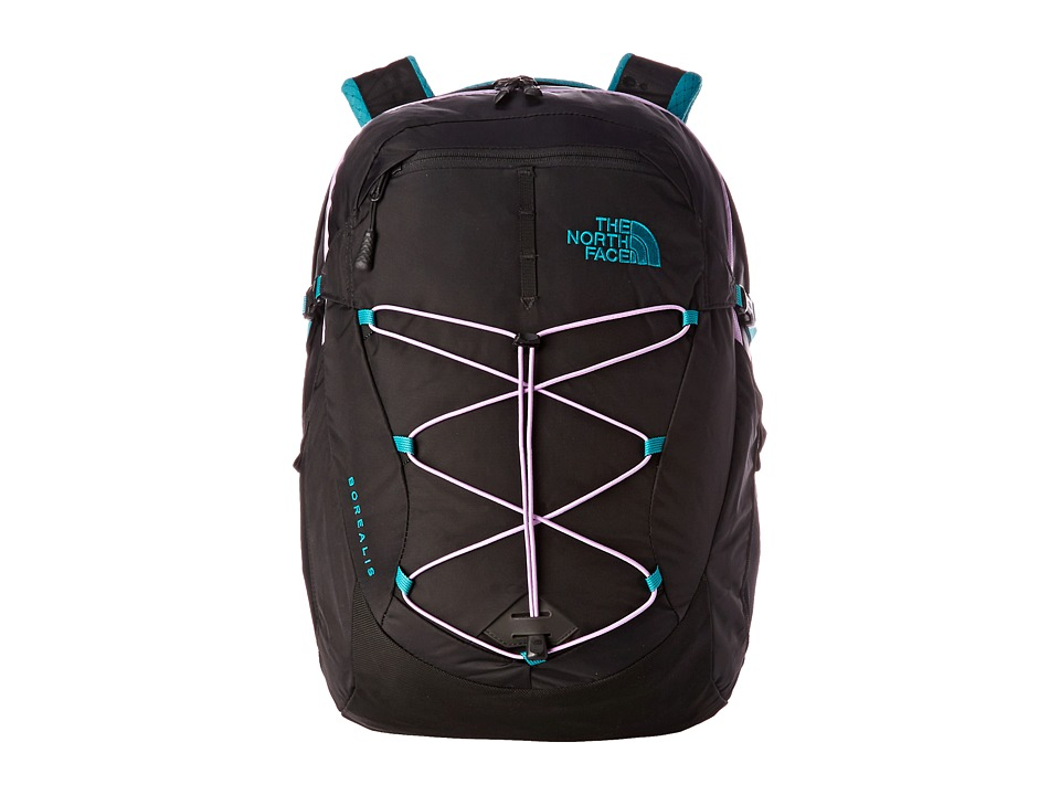 The North Face - Women's Borealis (Kokomo Green/African Violet) Backpack Bags