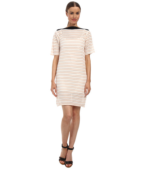 See by Chloe - LS97R00 Dress (Cream/Beige) Women