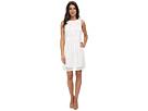 Lace Combo A-Line Dress
