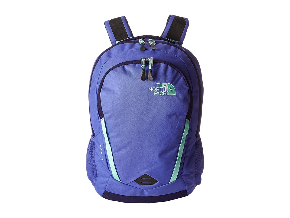 The North Face - Women's Vault (Starry Purple/Surf Green) Backpack Bags