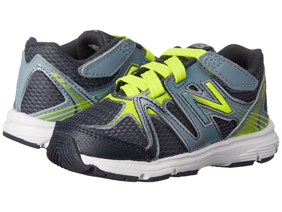 New Balance Kids - 697 (Infant/Toddler) (Hi-Lite/Grey) Boys Shoes