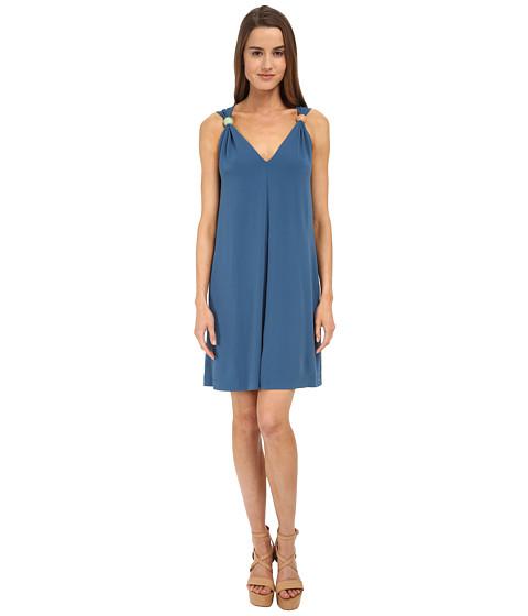 See by Chloe - L559300 Dress (Riviera Blue) Women's Dress