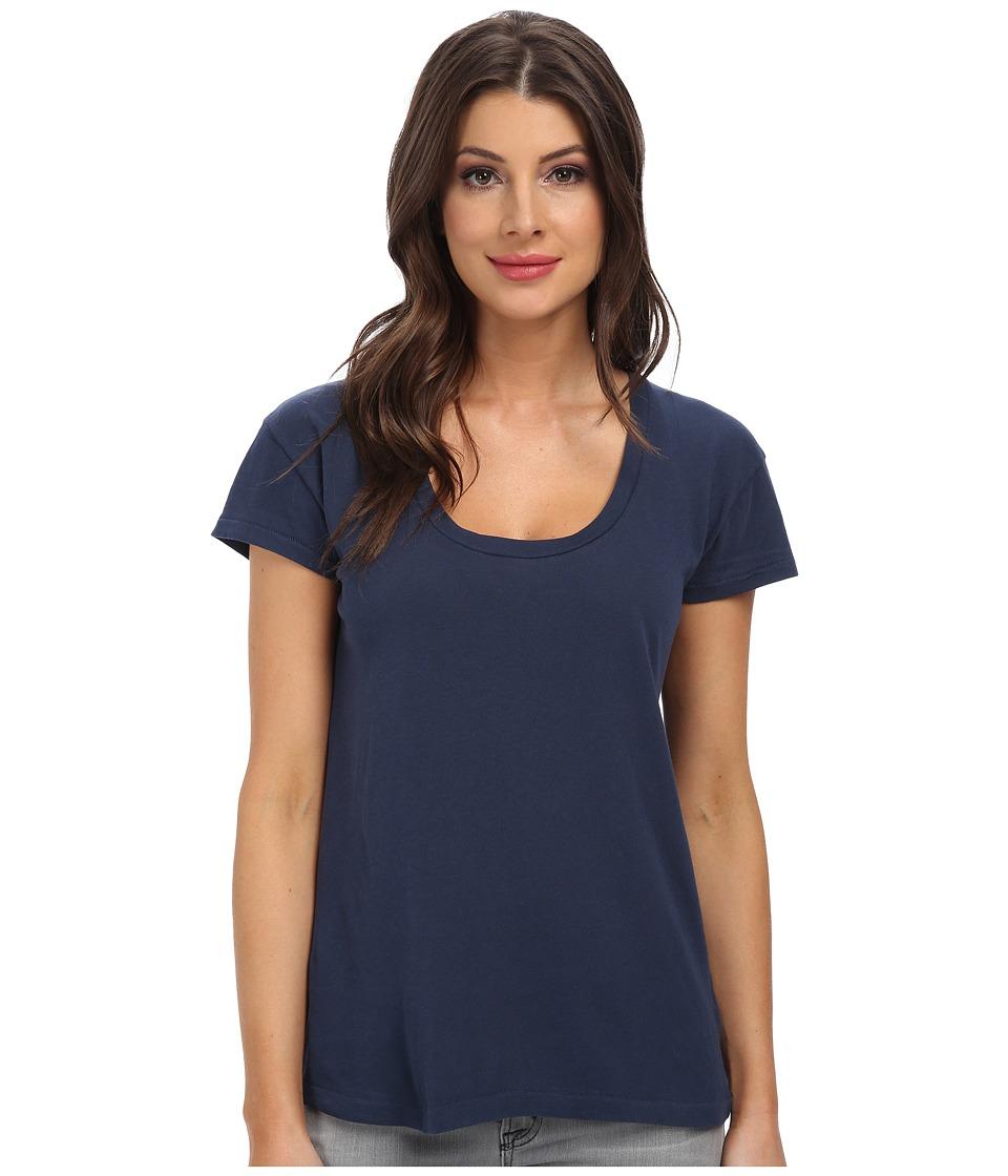 C&C California - S/S Scoop Tee (Navy) Women's T Shirt