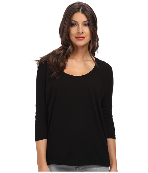 C&C California - 3/4 Sleeve Dolman (Black) Women's Clothing